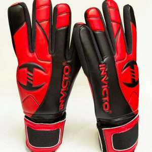 Invicto - goalie gloves Red/black