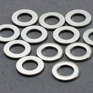 Washers, 3x6mm metal (12)
