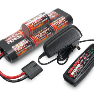 8.4V 7-cell NiMH Battery/charger completer pack