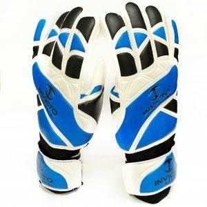 Invicto - goalie gloves Blue/black/white