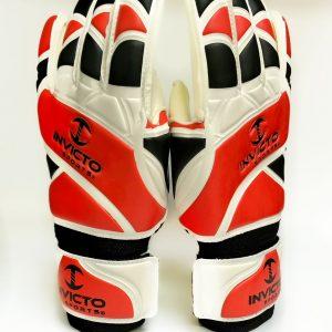 Invicto - goalie gloves orange and black