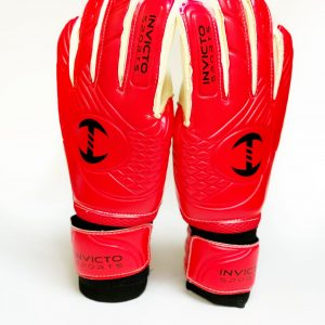 Invicto - goalie gloves Red and Black